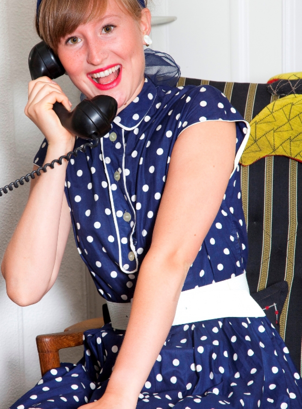 1950'er mode, polkaprikker, vintagemode, sturskørter