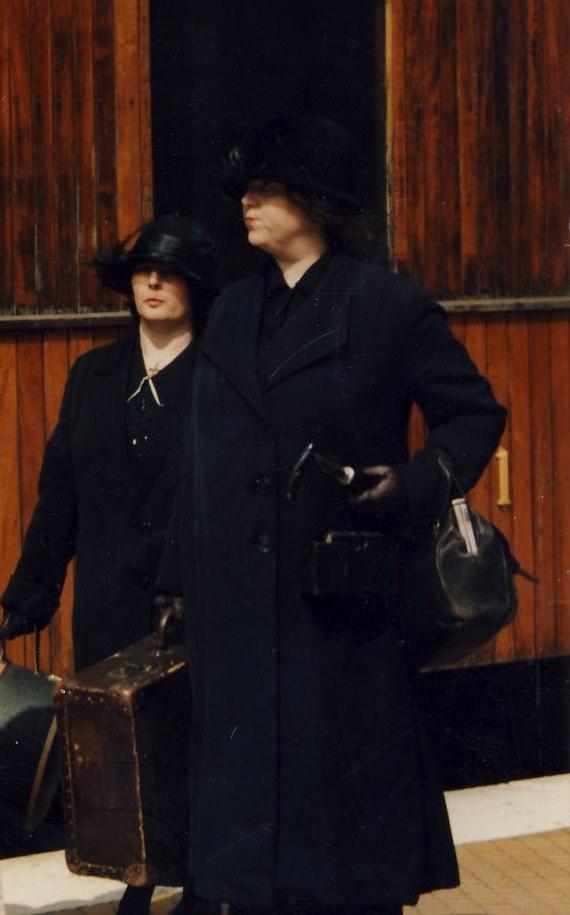 kvindemode 1910 - 1919, reformdragt, jordmodertaske