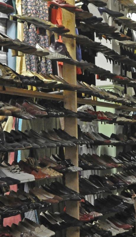 1950'er mode, vintage sko, retro sko, kostumeudlejning, rekvisitudlejning, accessories