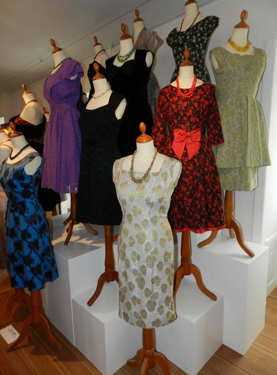 1960'er mode, kostumeudlejning, kostumer, original beklædning, mad men stil, vintage
